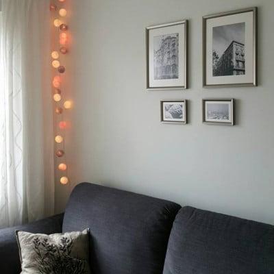 ranku darbo medvilnines lemputes berrylights