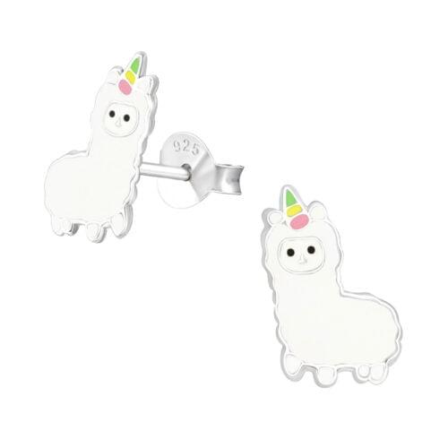 Sidabriniai auskarai alpaca_berrylights